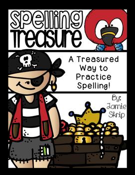 Spelling Treasure [A Treasured Way to Practice Spelling]