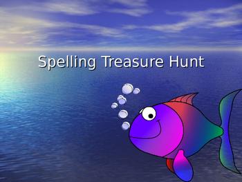 Spelling Treasure Hunt Game