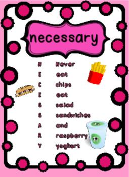 Spelling Tricks and Mnemonics