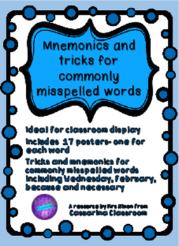 Spelling Tricks and Mnemonics