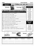 Spelling Unit: #3 Prefixes En and Em