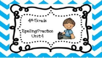 Spelling Unit 4