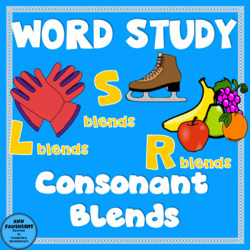 Spelling Unit Consonant Blends One week of independent work including assessment