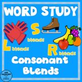 Word Study Consonant Blends