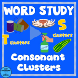 Word Study Consonant Clusters (3 letter blends + digraphs) 1 Complete week