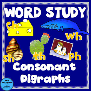 Spelling Unit Consonant Digraphs 1 week of independent wor