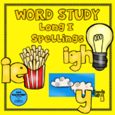 Word Study Long I: ie, igh, y