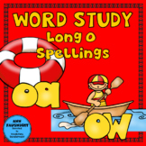 Word Study Long O: oa & ow