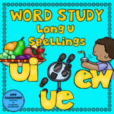 Word Study Long U: ue ui & ew