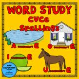 Word Study CVCe spelling