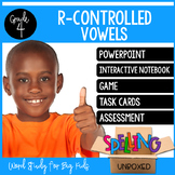 Spelling Unit - R Controlled Vowels (4th Grade)