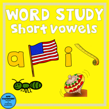 Spelling Unit Short A and I One week of independent work including assessment