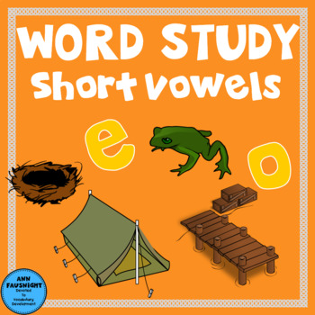 Spelling Unit  Short E and O: One week of independent work