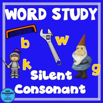 Spelling Unit Silent Consonants 1 week of independent work