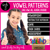 Spelling Unit - Vowel Patterns {AU, AW, AL, AUGH, OUGH} (3rd Grade)