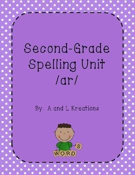 Spelling Unit /ar/