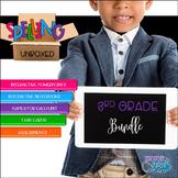 Spelling Units - 3rd Grade Growing BUNDLE