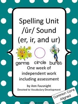 Word Study Variant Vowels Bundle