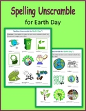 Spelling Unscramble for Earth Day