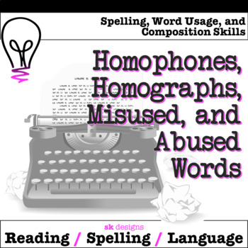 Confused Words Tips Tricks for Usage & Spelling Accuracy on Posters Flash Cards