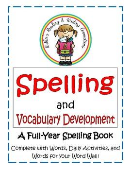 Spelling Vocabulary Book