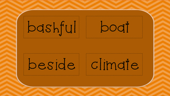 Spelling, Vocabulary & Dictionary Skills