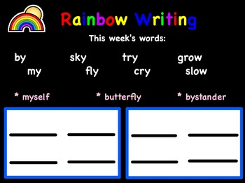 Promethean - Rainbow Station for Spelling and Vocabulary Grades 1-2