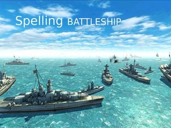 Spelling Vocabulary Study Game Battleship Word Work Daily 5 Practice