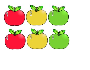 Spelling, Vocabulary, or Sight Word Practice Activity Apple Theme