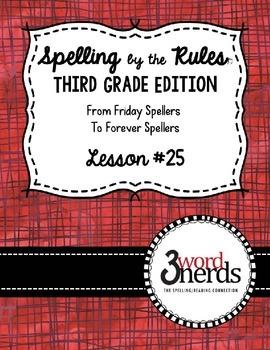Spelling - Vowel y - Third Grade