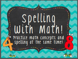 Spelling With Math!