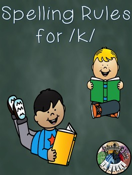 Spelling With k and c Rules