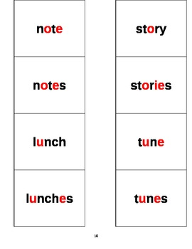 Spelling Word Cards - Scott Foresman Reading Street Grade 2