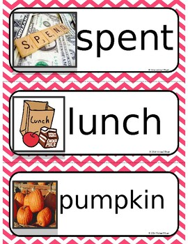 HMH Spelling Word Cards (Third Grade) Module 1 Week 1