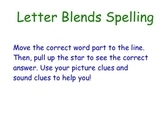 Spelling Word Ending Blends Smartboard Activity