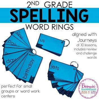 Spelling Word Rings - 30 Weeks