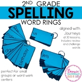 Spelling Word Rings - 30 Weeks
