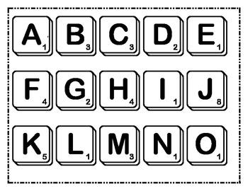 Spelling Word Scrabble