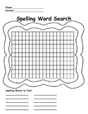 Spelling Word Search WS