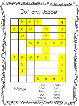 Spelling Word Searches Unit 6 Macmillan/McGraw-Hill Treasures First Grade