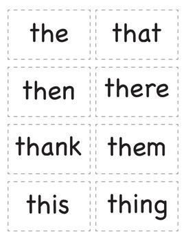 Spelling Word Sort Game 2