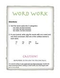 Spelling Word Sort for Doubling Rule