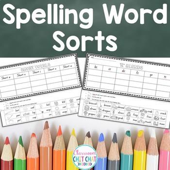 Spelling Word Sorts