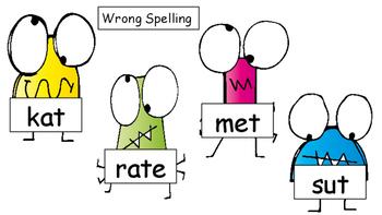 Spelling Word Splat! Kindergarten (Full Year)