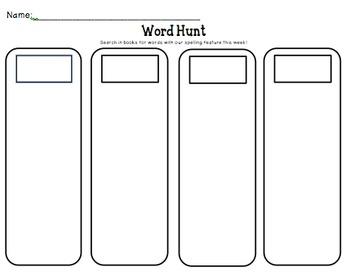 Spelling/Word Study Activities Bundle