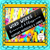 Spelling & Word Work Games and Activities for Homework and Class Work