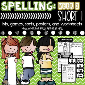 Spelling & Word Work: Short I- Week 2