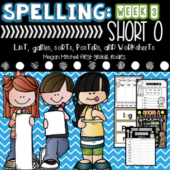 Spelling & Word Work: Short O- Week 3