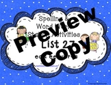 Spelling & Word Work Station Activities All Lists BUNDLED in one- TEKS Based