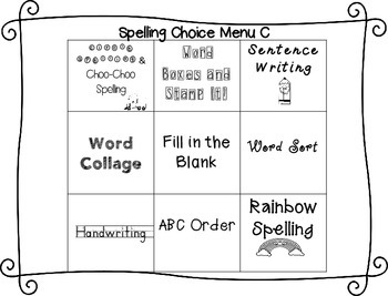 Spelling & Word Work Station Activities List 16 Words with Suffix -ed  -TEKS